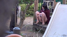 Teen Asian Sluts Peeing In Public - Scene 12