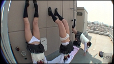 Japanese Handstand Exhibitionists - Scene 10