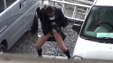 Spraying Piss In Public - Scene 3