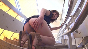 Naughty Asians Hotties Are Showing Their Pussies In Public - Scene 7
