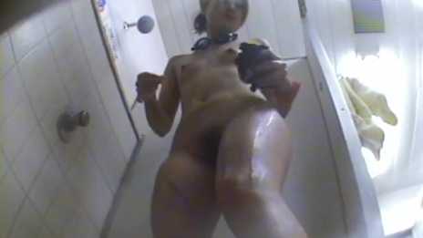 Watch Hot Hotties Playing Under Steamy Shower - Scene 1